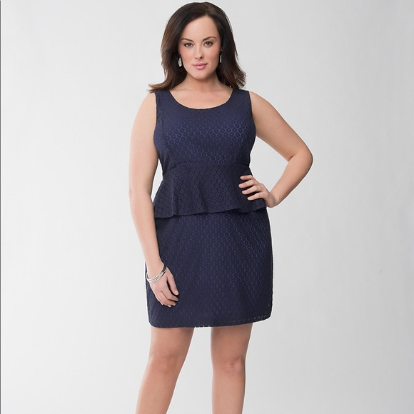 Plus Size Peplum Dress